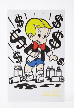 Alec Monopoly x Forever 21 Richie Rich Notebook | Forever 21;