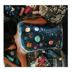 provocative-planet-pics-please.tumblr.com Planetas. #planetas #pintura #pinceles #arte #universo #sistemasolar #cosmos #cuerpo #espalda #lienzo #planets #painting #bodypainting #body #canvas #back #art #universe #solarsystem #brushes by andreitapro https://www.instagram.com/p/-_xXOsSfg-/