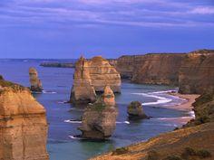 Twelve Apostles Limestone Cliffs, Australia