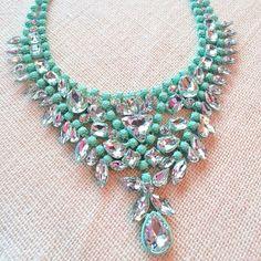 Turquoise & diamonds
