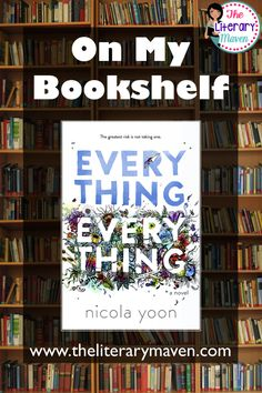 In Everything, Everything by Nicola Yoon every day is the same as the one before for Madeline; she suffers from an illness that prevents her from any contact with the outside world. But then the boy who moves in next door catches her eye and everything changes. Read on for more of my review and ideas for classroom application.