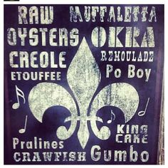 Creole bred and Texan raised  Louisiana