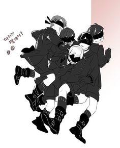NieR: Automata ♥ ♡ #PlayStation #Game #Yorha