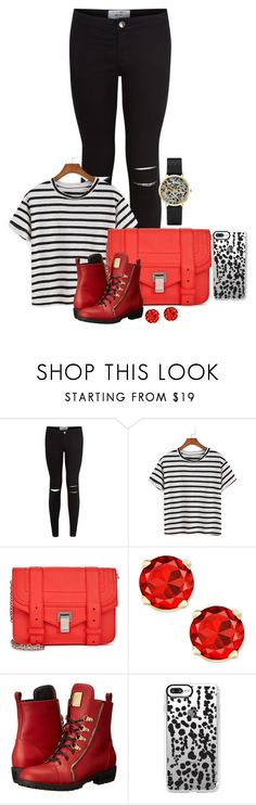 """""""GenderBent Inspired Descendants Carlos De Vil #1"""" by arrowette-854 ❤ liked on Polyvore featuring New Look, Proenza Schouler, Giuseppe Zanotti, Casetify and CLUSE"""