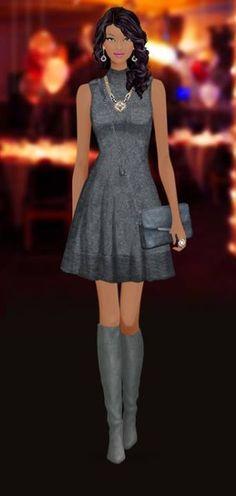 Covet Fashion Diva Fashion, Covet Fashion, Fashion Games, Fashion Dolls, Fashion Art, Fashion Dresses, Womens Fashion, Express Fashion, Girls Dress Up