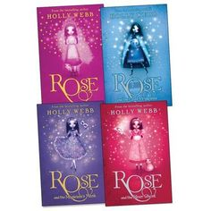 Rose Pack, 4 books, RRP £23.96 (Rose; Rose & The Lost Princess; Rose & The Magicians Mask; Rose And The Silver Ghost). by Holly Webb, http://www.amazon.co.uk/dp/B0053FKFR0/ref=cm_sw_r_pi_dp_30TErb06280GE