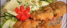 Recept Kuřecí řízek marinovaný v zakysané smetaně Low Carb, Chicken, Healthy, Potatoes, Meat, Grandma Cake, Koken, Top Recipes, Health