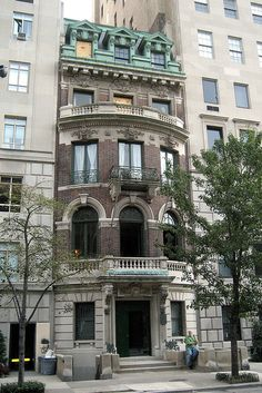 beaux arts townhome NYC