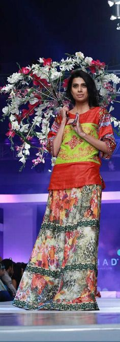 Ittehad Collection at PFDC Sunsilk Fashion Week 2015