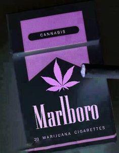 Marlboro 20 Marijuana Cigarettes #cannabis #maryjane #marijuana