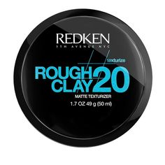 HAIR 2 GO - Redken - Styling - Rough Clay 20 Matte Texturizer 50.5g, $24.95 (http://www.hair2go.com.au/redken-rough-clay-20-matte-texturizer-50-5g/)