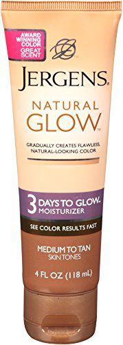 Jergens Natural Glow 3 Days to Glow Moisturizer Medium to Tan Skin Tones 4 Ounce >>> You can get more details by clicking on the image. Note: It's an affiliate link to Amazon