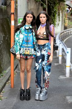 The 30 Best Tokyo Fashion Week Street Style Looks – Vogue #streetstyle #Tokyo #TokyoFashionWeek
