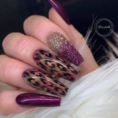 Newest Acrylic Coffin Nails Art Ideas In Fall; lila Newest Acrylic Coffin Nails Art Ideas In Fall Glam Nails, Dope Nails, Bling Nails, My Nails, Fabulous Nails, Gorgeous Nails, Perfect Nails, Purple Nail Designs, Nail Polish Designs