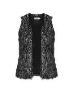 Faux Fur Gilet, Fall Staples, Blazer Jacket, Plus Size Fashion, Fur Coat, My Style, Grey, Sweaters, Jackets