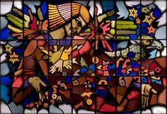SZ21536, Gebrandschilderd glas-in-lood-raam, Alex Asperslagh, 'Caritas'. | by Collectiewijzer