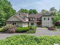 Exceptional Location In Cold Spring Harbor , Beautiful Large Principal Rooms, With High Ceilings, Gorgeous Heated Pool, A Master Suite W/Private Deck And His/Her Baths, And Huge Walk In Closets, Private Balcony, Office/Den. Hardwood Floors, Cul De Sac, Circular Driveway, Blue Stone And Brick Patios. Cold Spring Harbor, Fish Hatchery, Office Den, Circular Driveway, Brick Patios, High Ceilings, Heated Pool, Full Bath, Master Suite