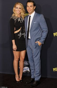 Date night: They attended the premiere of Pitch Perfect 2 in May together, with Anna weari...