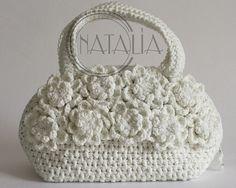 crochet bag...so beautiful...