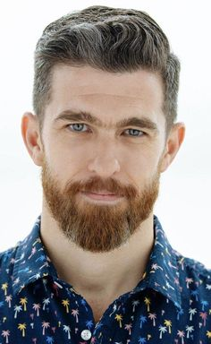 Top 10 Haircuts For Men 2019 & Products You Need Top 10 Haircuts, Haircuts For Men, Ginger Men, Ginger Beard, Beard Styles For Men, Hair And Beard Styles, Moustaches, Short Quiff Haircut, Mens Hairstyles With Beard