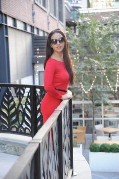 Red dress…