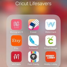 Best Apps and Websites for Cricut, Silhouette, and Cameo Users. These are my must-have apps when working with my Cricut. There are many variations of a lot of these apps. These are the ones I have found the easiest to work with.