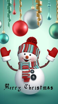 Best Of Christmas Snowman Wallpaper For Iphone wallpaper Christmas Scenes, Christmas Pictures, Christmas Snowman, Christmas Time, Christmas Crafts, Christmas Bulbs, Merry Christmas, Christmas Decorations, Christmas Ideas
