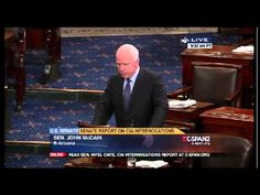 John McCain CIA Torture Report Senate Speech. Torture Was Ineffective, Stained our National Honor 12-9-14