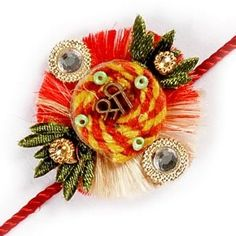 Send designer Rakhi for loving bro! with free shipping any where in india.