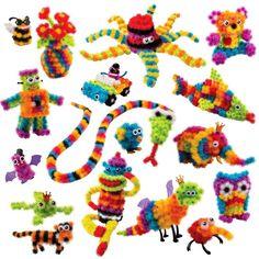 Pet Creation Mega Pack Montessori Plastic Blocks Toy 36pcs Accessories 370+ Spot Best Block Toy Sets Models & Building Toys