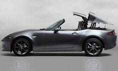 LA GAZETTE AUTOMOBILE: Photo du jour : la Mazda MX-5 RF (Retractable Fastback)