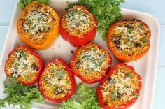 Lentil-Quinoa-Stuffed Peppers | The Dr. Oz Show | Follow this Dr. Oz Recipe board Now and Make it later!