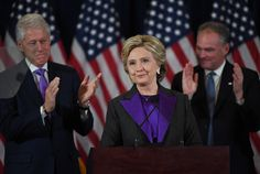 Hillary Clinton didn't give her concession speech on Election Night. Now we see one reason why. - The Washington Post