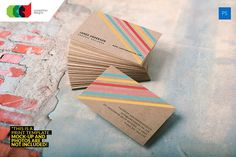 Kraft - Business Card 34 by Cooledition on @creativemarket