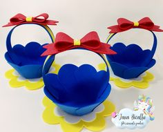 Disney Princess Birthday Party, Baby Girl Birthday, 2nd Birthday Parties, Easter Crafts, Crafts For Kids, Snow White Birthday, 5 Minute Crafts Videos, Disney Diy, Foam Crafts