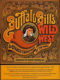 SO MUCH PILEUP: Buffalo Bill's Wild West