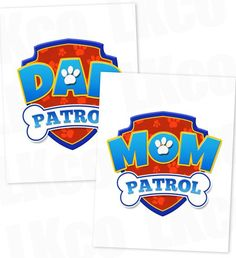 Paw Patrol Iron On Transfers This item is for do-it-yourself (DIY) t-shirt crafts. Our designs are printed onto Avery heat transfers for WHITE or LIGHT COLORED