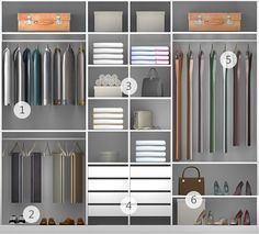 Casal - Linha Project - Tok&Stok Wardrobe Design Bedroom, Bedroom Wardrobe, Wardrobe Closet, Bedroom Decor, Bedroom Cupboard Designs, Bedroom Cupboards, Wardrobe Door Designs, Closet Designs, Dressing Room Design