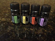 A guide to getting started with four key essential oils #doterra #naturalliving