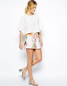 Asos flower shorts