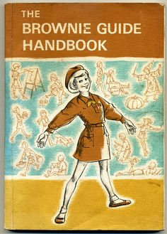 The Brownie Guide Handbook - cover, via Flickr.