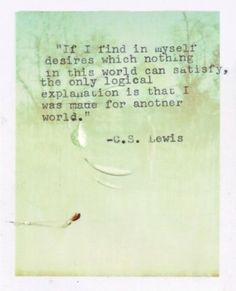 CS Lewis created one of the best imaginary worlds of my childhood, which was my safety when the real world was not.