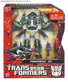 Transformers Generations Voyager Class Powerdive