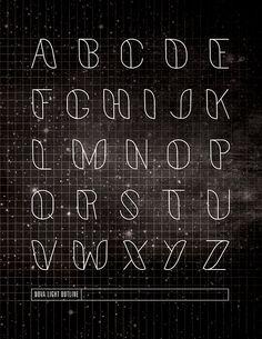 Nova: A Typeface on Behance