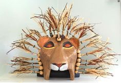 How to Make a Lion King Mask - YouTube