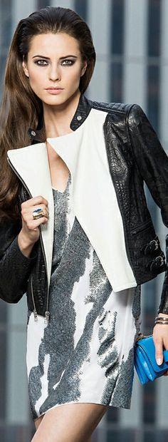 Robert Rodriguez Sequin Mini Dress in Silver