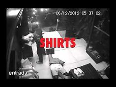 """Brazilian menswear brand Reserva used actual security-camera footage of a real robbery at one of its São Paulo stores in the ad below, for a subsequent clearance sale. The spot superimposes text such as """"There's no need to break the store window"""" and """"Hurry up!"""