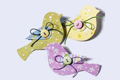 These paper birds can decorate anything. They are so easy to make and are broad in application.  Paper bird will find their p
