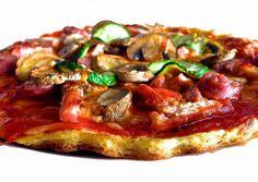 TOFU(http://fitfoodmarket.es/)    INGREDIENTES (para 1 pizza): Para la base: 70gr de tofu 4 claras de huevo 1 lata de atún al natural sal ...