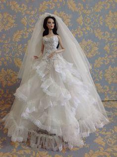 Bestty_Doll Gown Outfit Dress Fashion Royalty Silkstone  Model Doll FR  | Dolls & Bears, Dolls, Clothes & Accessories | eBay!
